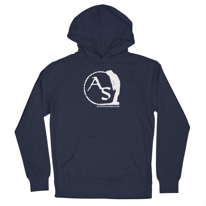 AS LOGO Print anthonysnape.com Men's Pullover Hoody by Home Store - Music Artist Anthony Snape