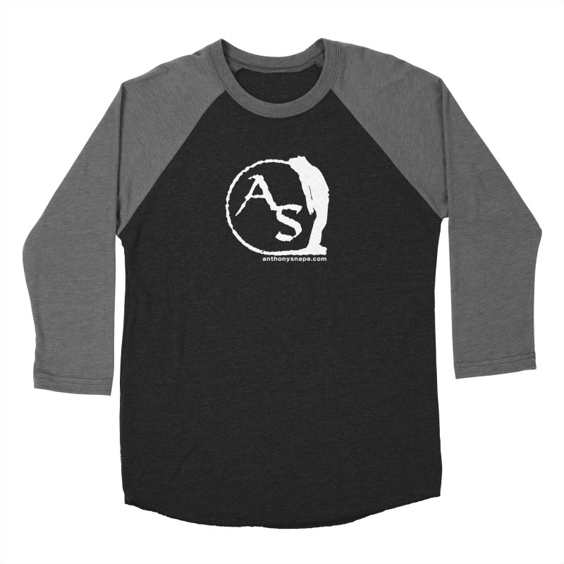 AS LOGO Print anthonysnape.com Women's Longsleeve T-Shirt by Music Artist Anthony Snape