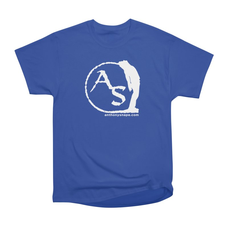 AS LOGO Print anthonysnape.com Men's Heavyweight T-Shirt by Home Store - Music Artist Anthony Snape