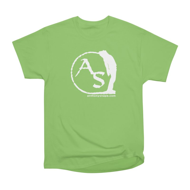 AS LOGO Print anthonysnape.com Women's Heavyweight Unisex T-Shirt by Home Store - Music Artist Anthony Snape