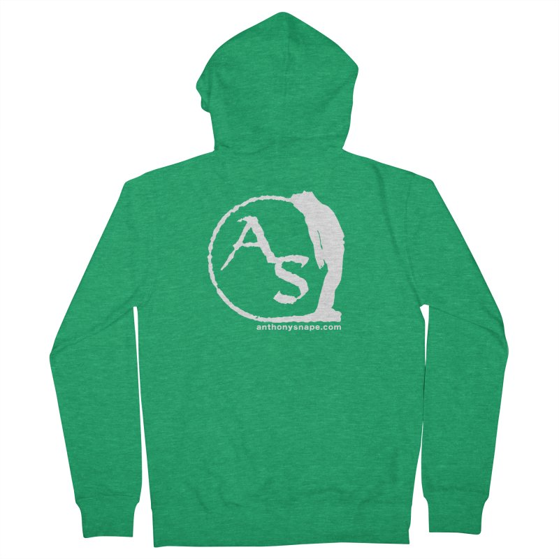 AS LOGO Print anthonysnape.com Women's Zip-Up Hoody by Home Store - Music Artist Anthony Snape