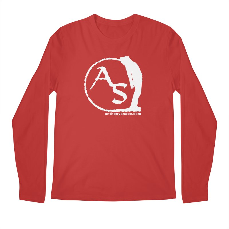 AS LOGO Print anthonysnape.com Men's Regular Longsleeve T-Shirt by Home Store - Music Artist Anthony Snape