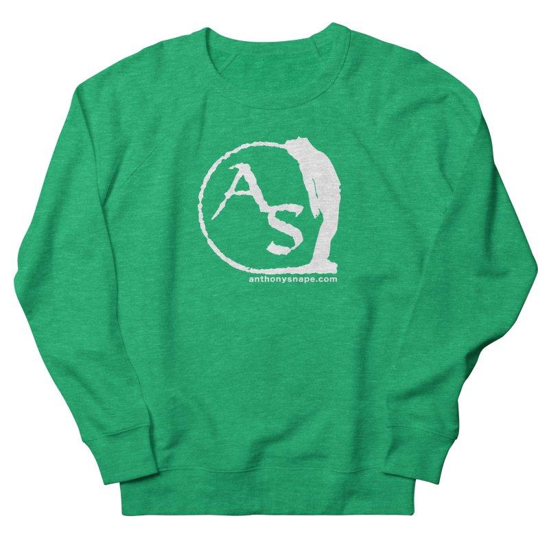 AS LOGO Print anthonysnape.com Women's Sweatshirt by Music Artist Anthony Snape