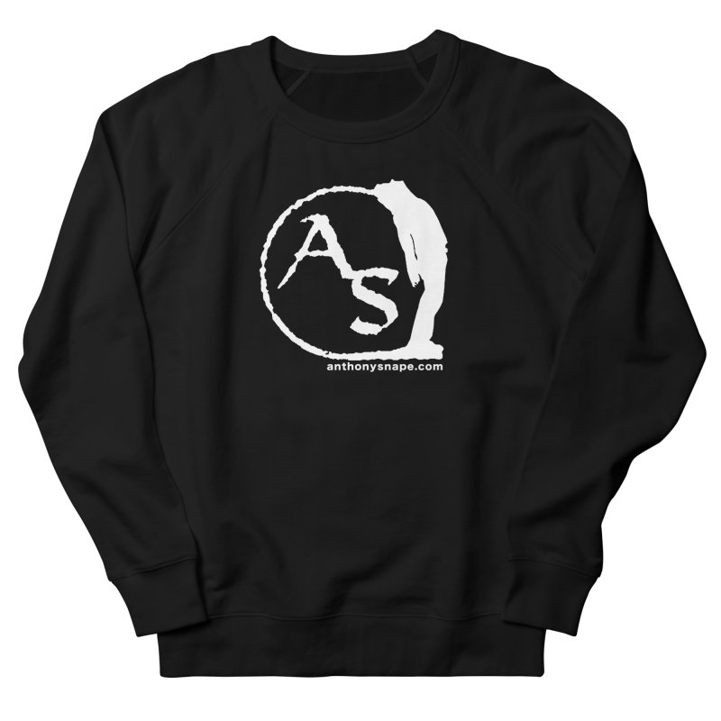 AS LOGO Print anthonysnape.com Men's Sweatshirt by Music Artist Anthony Snape