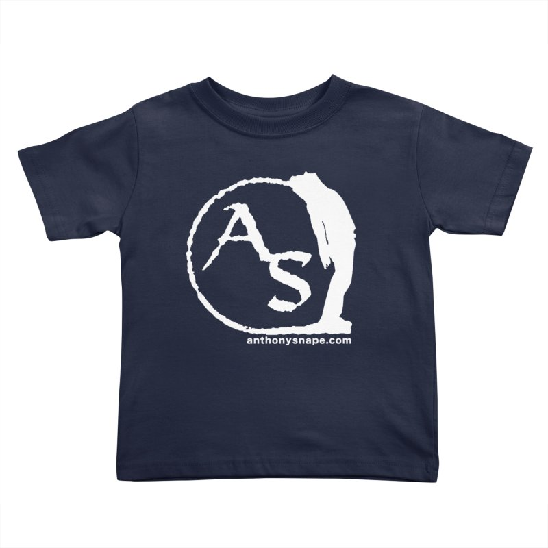AS LOGO Print anthonysnape.com Kids Toddler T-Shirt by Home Store - Music Artist Anthony Snape