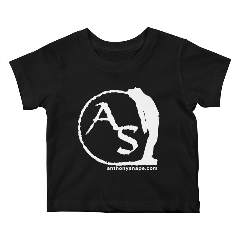 AS LOGO Print anthonysnape.com Kids Baby T-Shirt by Home Store - Music Artist Anthony Snape