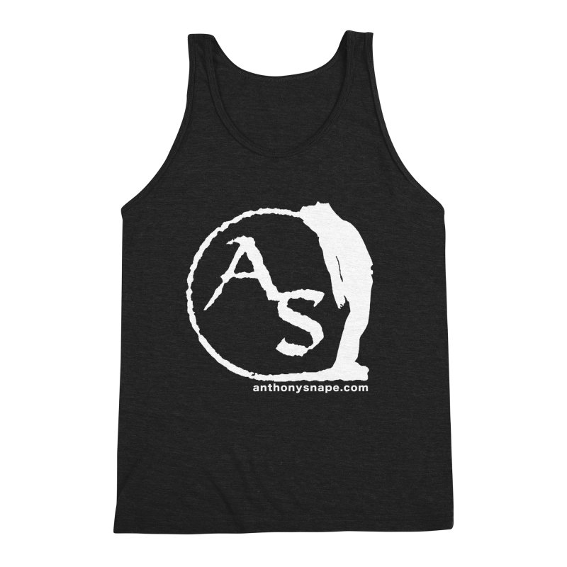 AS LOGO Print anthonysnape.com Men's Tank by Music Artist Anthony Snape