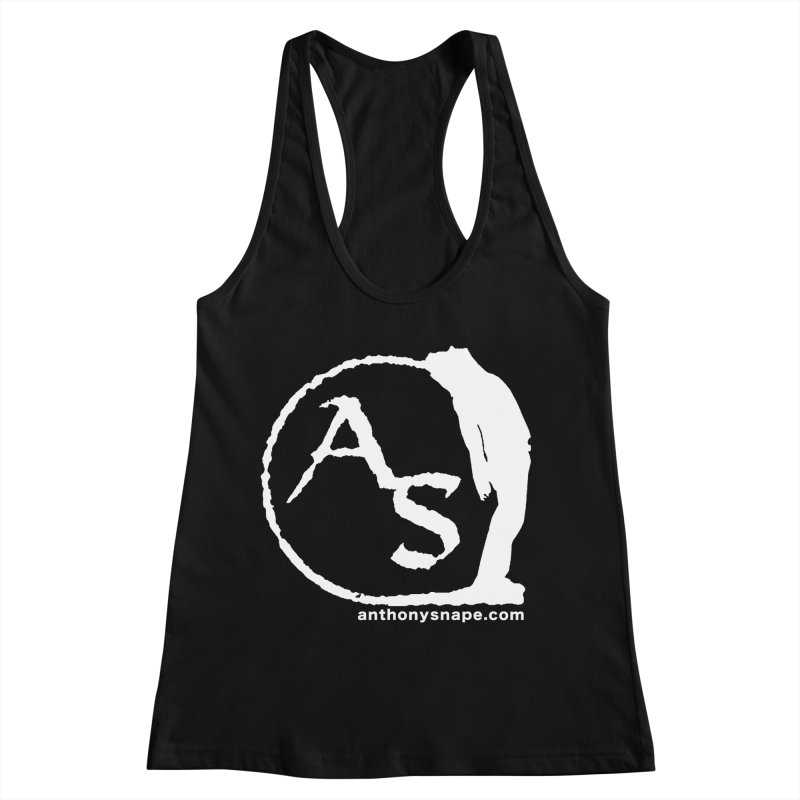 AS LOGO Print anthonysnape.com Women's Racerback Tank by Home Store - Music Artist Anthony Snape