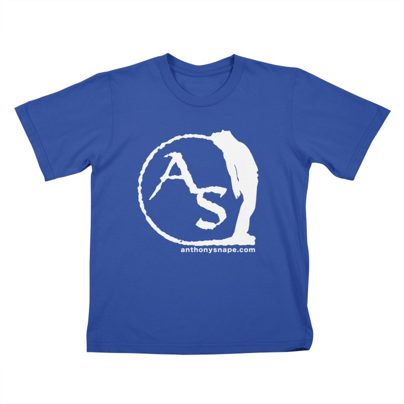 AS LOGO Print anthonysnape.com Kids T-Shirt by Home Store - Music Artist Anthony Snape