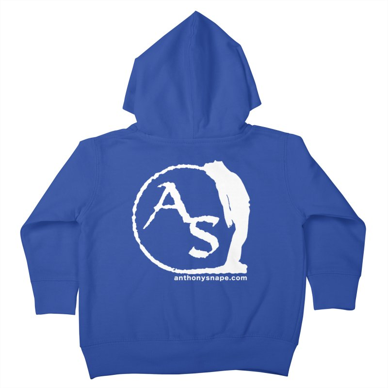 AS LOGO Print anthonysnape.com Kids Toddler Zip-Up Hoody by Home Store - Music Artist Anthony Snape