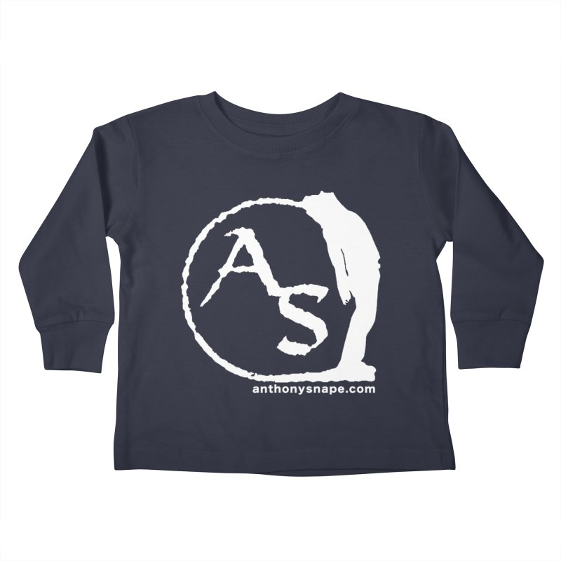 AS LOGO Print anthonysnape.com Kids Toddler Longsleeve T-Shirt by Home Store - Music Artist Anthony Snape