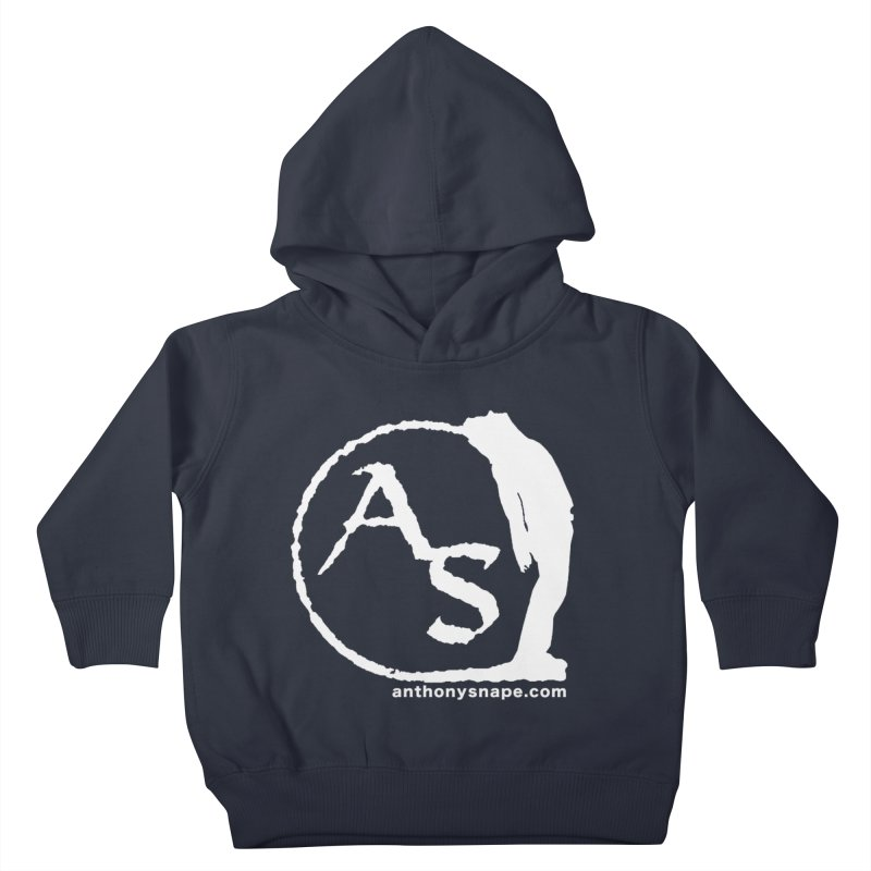 AS LOGO Print anthonysnape.com Kids Toddler Pullover Hoody by Home Store - Music Artist Anthony Snape