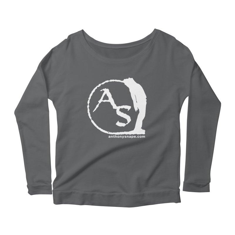 AS LOGO Print anthonysnape.com Women's Longsleeve T-Shirt by Music Artist Anthony Snape