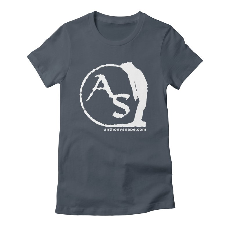 AS LOGO Print anthonysnape.com Women's T-Shirt by Music Artist Anthony Snape
