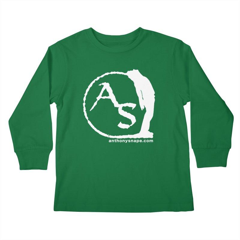AS LOGO Print anthonysnape.com Kids Longsleeve T-Shirt by Home Store - Music Artist Anthony Snape