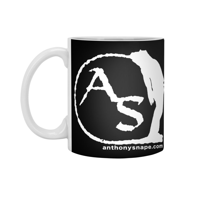 AS LOGO Print anthonysnape.com Accessories Standard Mug by Home Store - Music Artist Anthony Snape