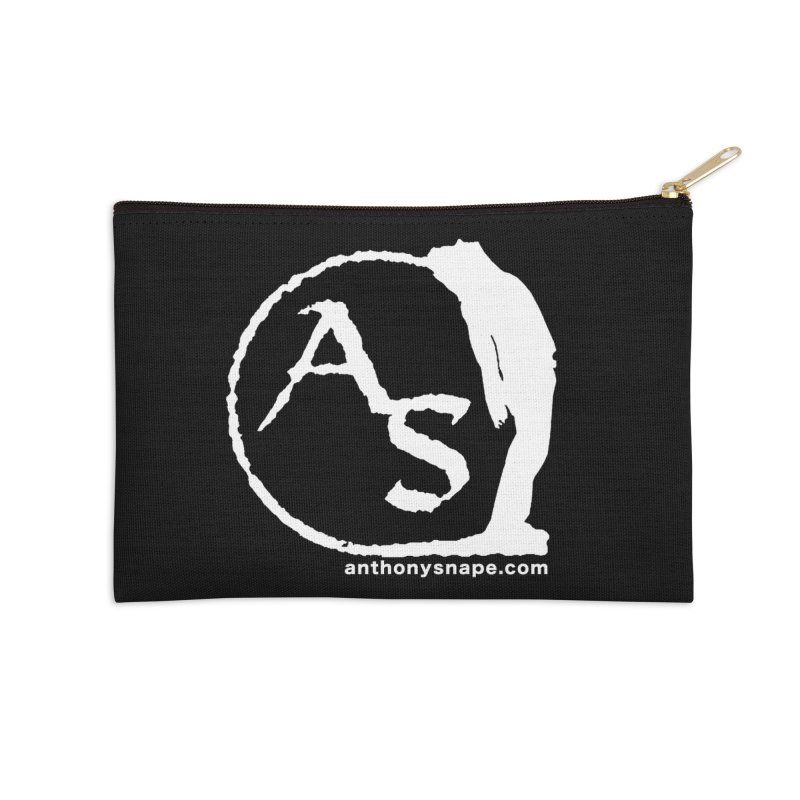 AS LOGO Print anthonysnape.com Accessories Zip Pouch by Home Store - Music Artist Anthony Snape