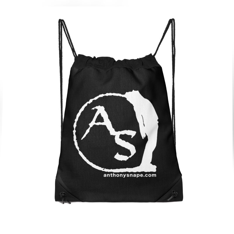 AS LOGO Print anthonysnape.com Accessories Drawstring Bag Bag by Home Store - Music Artist Anthony Snape