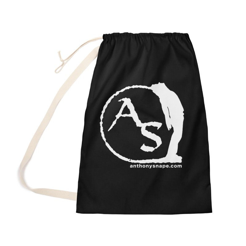 AS LOGO Print anthonysnape.com Accessories Bag by Music Artist Anthony Snape