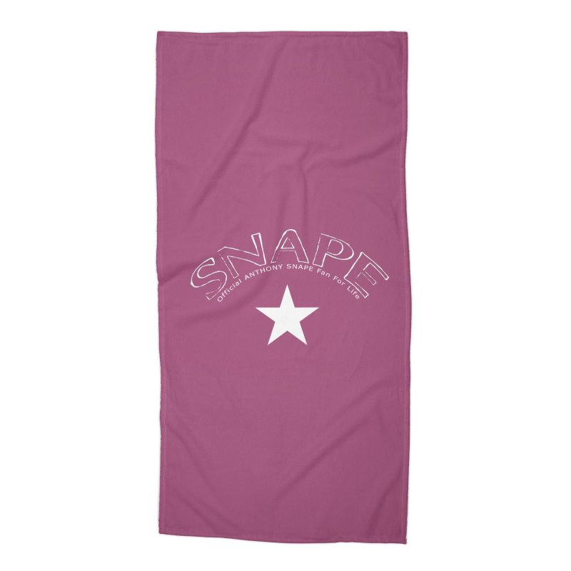 Snape Star Design - Fan For Life Accessories Beach Towel by Home Store - Music Artist Anthony Snape