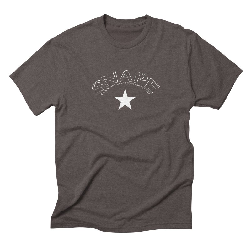 Snape Star Design - Fan For Life Men's Triblend T-Shirt by Home Store - Music Artist Anthony Snape