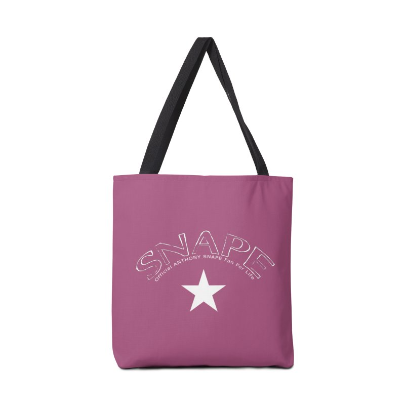 Snape Star Design - Fan For Life Accessories Tote Bag Bag by Home Store - Music Artist Anthony Snape