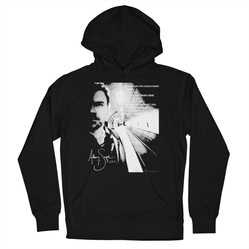 Signature Series 001 - Straight Lines 2017 Women's French Terry Pullover Hoody by Home Store - Music Artist Anthony Snape