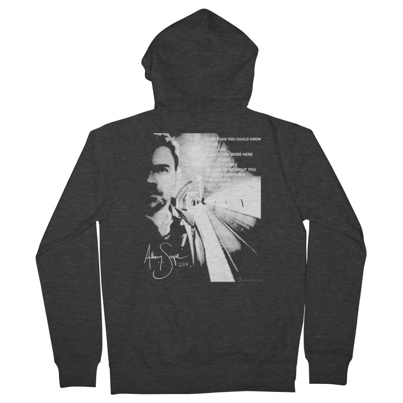 Signature Series 001 - Straight Lines 2017 Women's French Terry Zip-Up Hoody by Home Store - Music Artist Anthony Snape