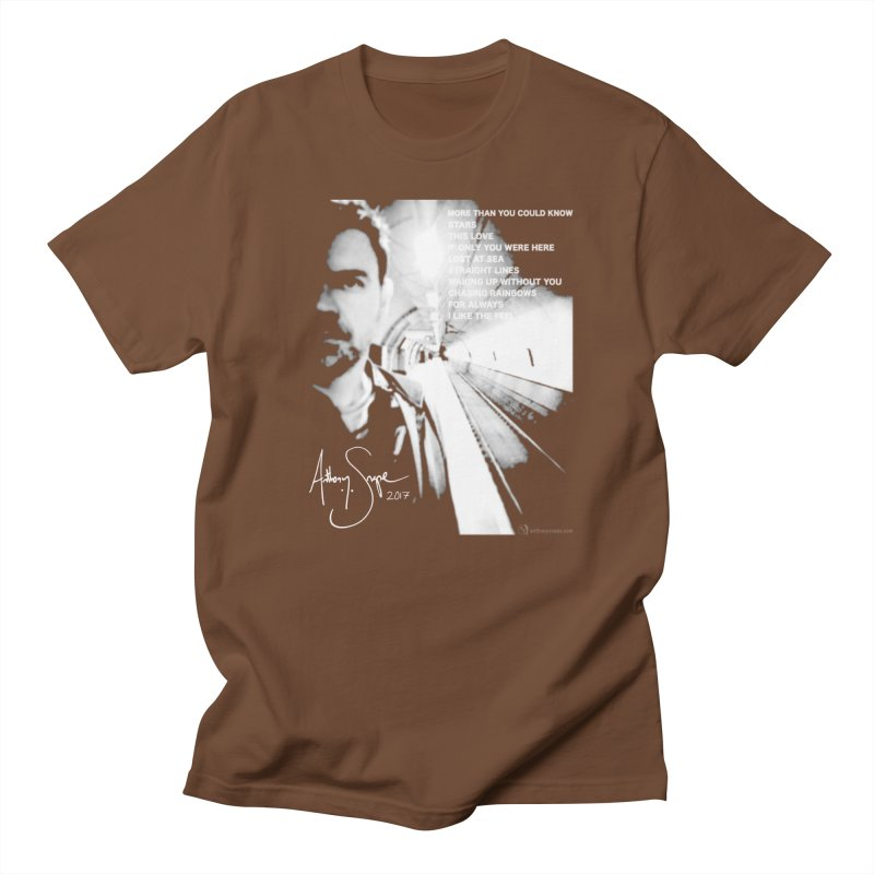 Signature Series 001 - Straight Lines 2017 Women's Regular Unisex T-Shirt by Home Store - Music Artist Anthony Snape