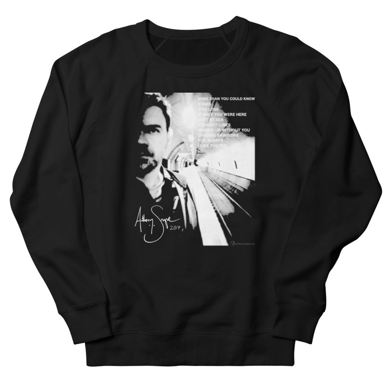 Signature Series 001 - Straight Lines 2017 Men's Sweatshirt by Music Artist Anthony Snape
