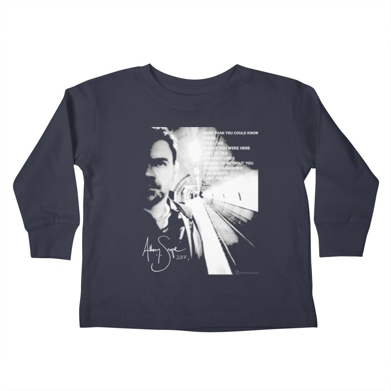Signature Series 001 - Straight Lines 2017 Kids Toddler Longsleeve T-Shirt by Home Store - Music Artist Anthony Snape