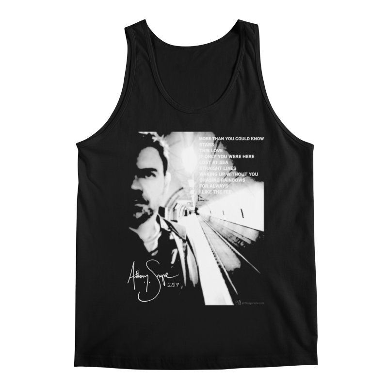 Signature Series 001 - Straight Lines 2017 Men's Regular Tank by Home Store - Music Artist Anthony Snape