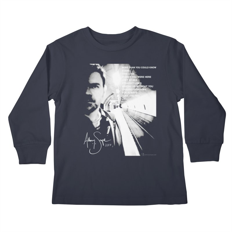 Signature Series 001 - Straight Lines 2017 Kids Longsleeve T-Shirt by Home Store - Music Artist Anthony Snape
