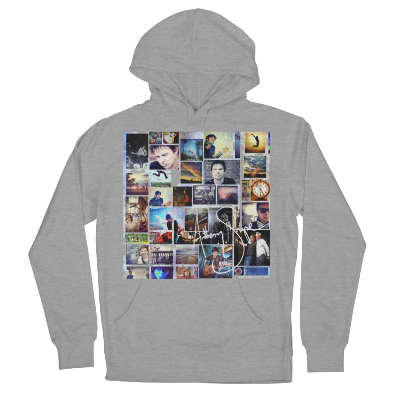 The Journey - Signature Edition Men's French Terry Pullover Hoody by Home Store - Music Artist Anthony Snape
