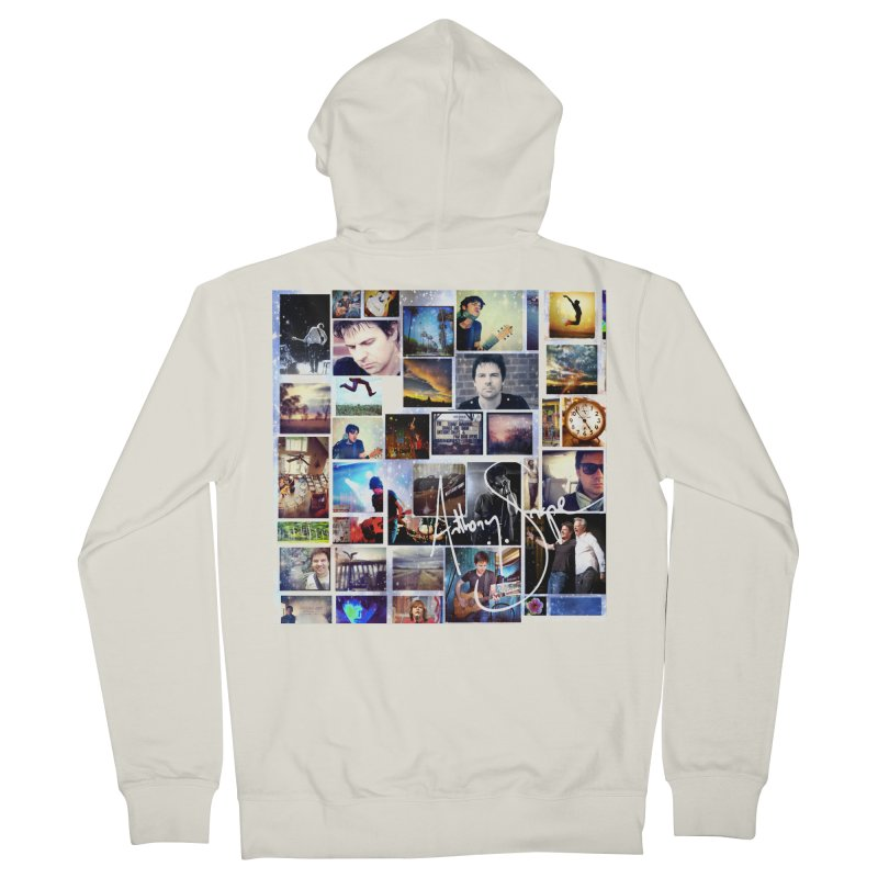 The Journey - Signature Edition Women's French Terry Zip-Up Hoody by Home Store - Music Artist Anthony Snape