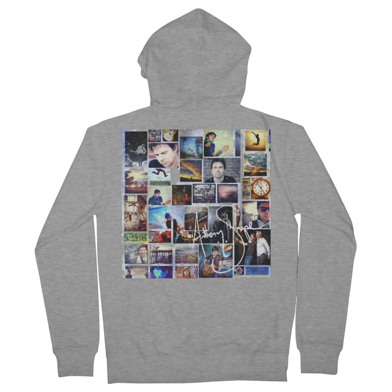 The Journey - Signature Edition Men's French Terry Zip-Up Hoody by Home Store - Music Artist Anthony Snape