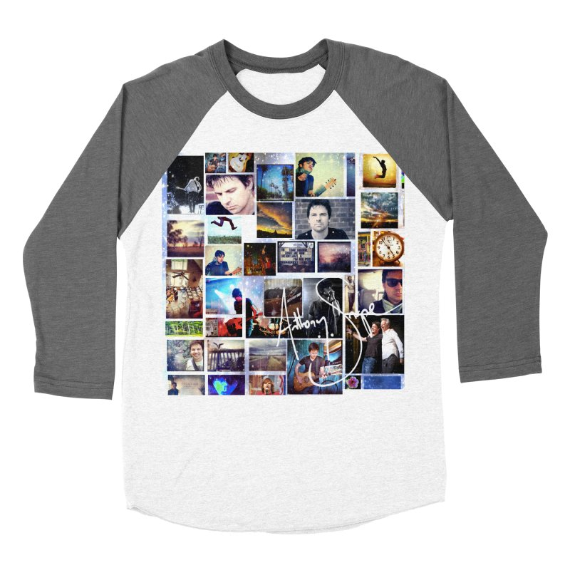 The Journey - Signature Edition Women's Baseball Triblend Longsleeve T-Shirt by Home Store - Music Artist Anthony Snape