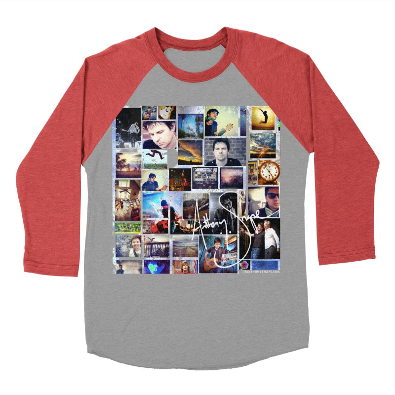 The Journey - Signature Edition Men's Baseball Triblend Longsleeve T-Shirt by Home Store - Music Artist Anthony Snape