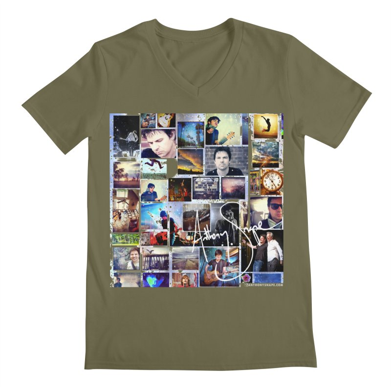 The Journey - Signature Edition Men's Regular V-Neck by Home Store - Music Artist Anthony Snape