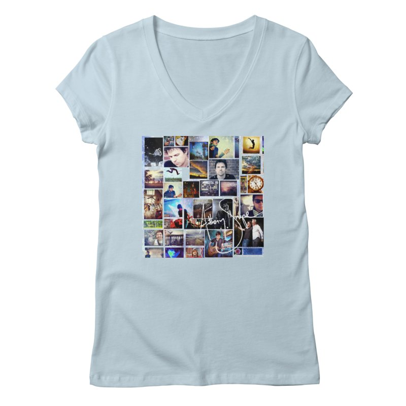 The Journey - Signature Edition Women's V-Neck by Music Artist Anthony Snape