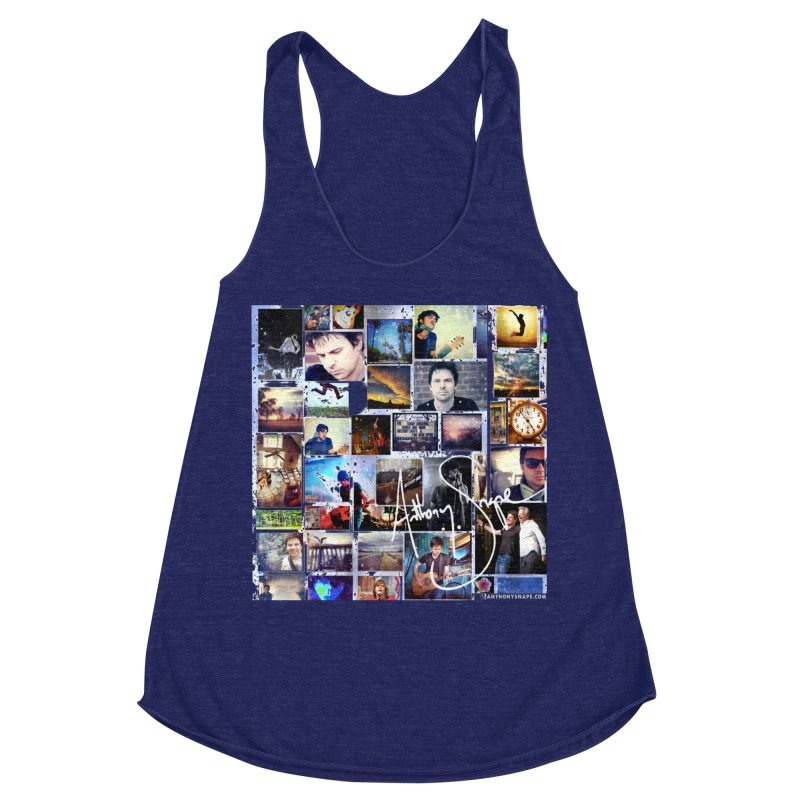 The Journey - Signature Edition Women's Racerback Triblend Tank by Home Store - Music Artist Anthony Snape