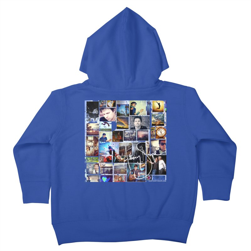 The Journey - Signature Edition Kids Toddler Zip-Up Hoody by Home Store - Music Artist Anthony Snape
