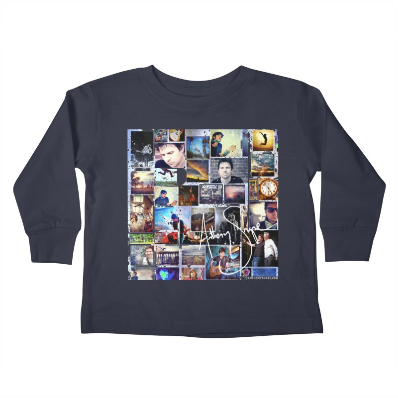 The Journey - Signature Edition Kids Toddler Longsleeve T-Shirt by Home Store - Music Artist Anthony Snape