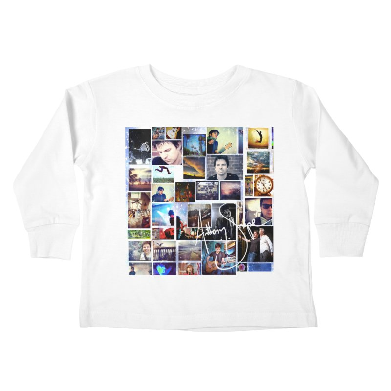 The Journey - Signature Edition Kids Toddler Longsleeve T-Shirt by Music Artist Anthony Snape