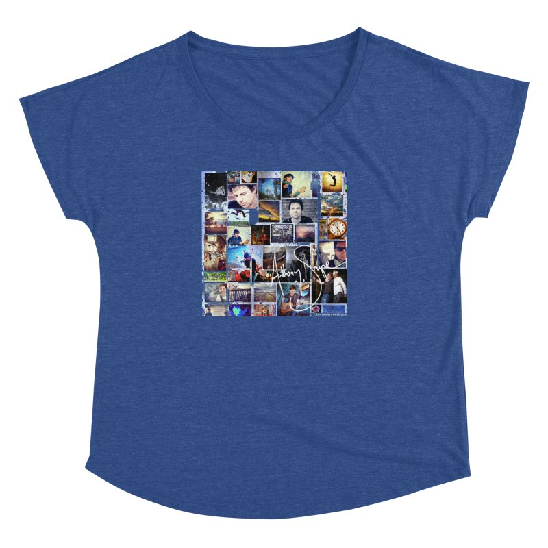 The Journey - Signature Edition Women's Dolman Scoop Neck by Home Store - Music Artist Anthony Snape