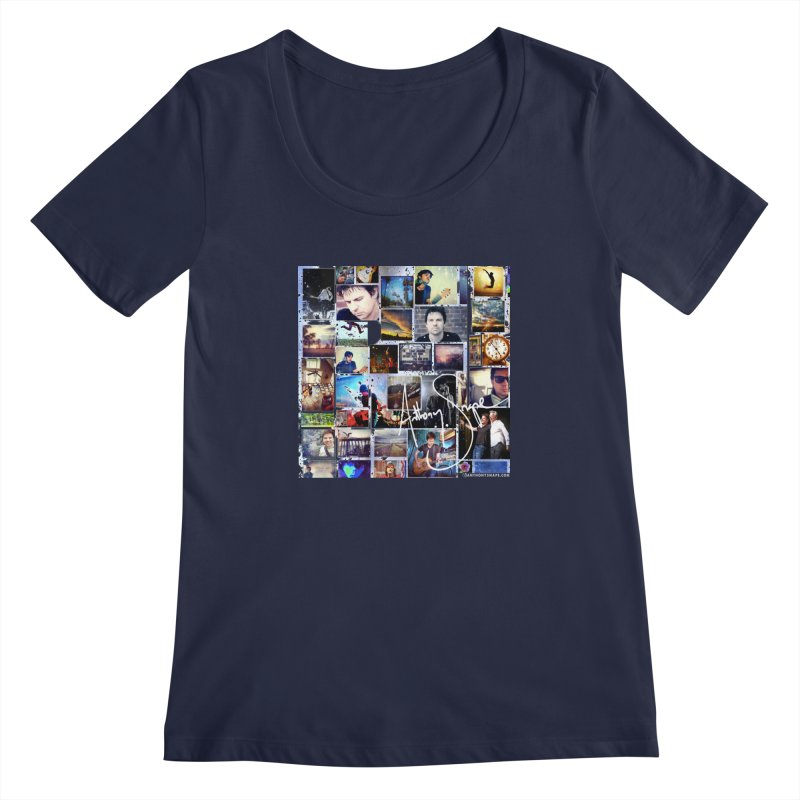 The Journey - Signature Edition Women's Regular Scoop Neck by Home Store - Music Artist Anthony Snape