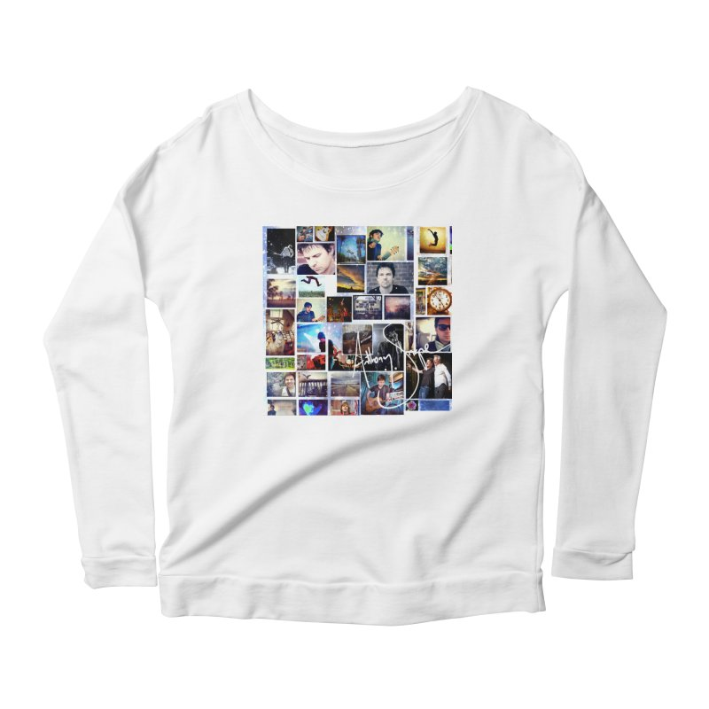 The Journey - Signature Edition Women's Scoop Neck Longsleeve T-Shirt by Home Store - Music Artist Anthony Snape