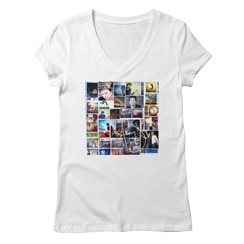 The Journey - Signature Edition Women's Regular V-Neck by Home Store - Music Artist Anthony Snape