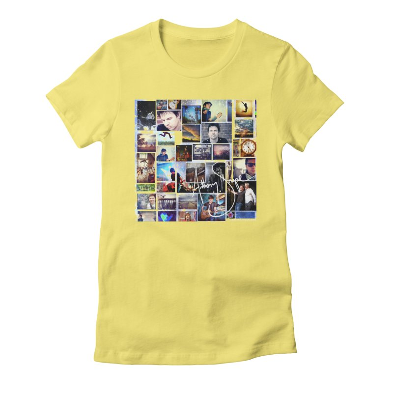 The Journey - Signature Edition Women's Fitted T-Shirt by Home Store - Music Artist Anthony Snape