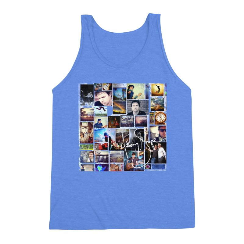 The Journey - Signature Edition Men's Triblend Tank by Home Store - Music Artist Anthony Snape
